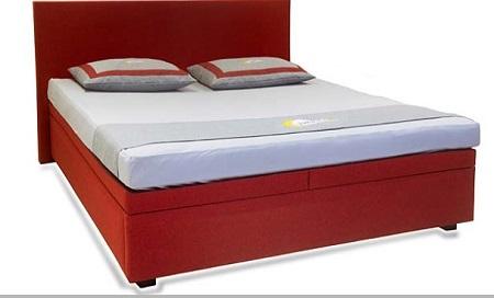 lit à eau Luna Easybox split avec tête de lit Trentino