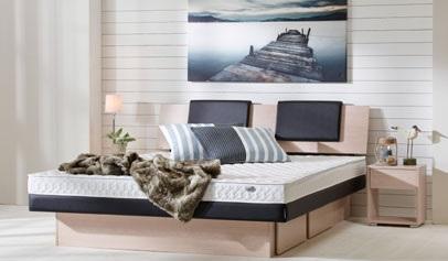 lit � eau Hybrid avec t�te de lit Mont Ventoux