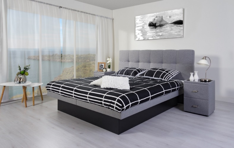 Waterbed Smile with headbed Modena