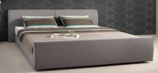 Lit à eau Poseïdon modèle Atlantic avec tête et pied de lit Bar en option