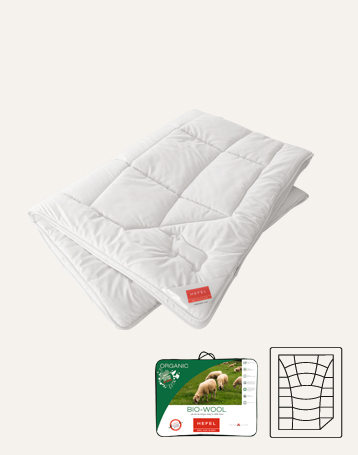Couette bio wool hiver d'hefel