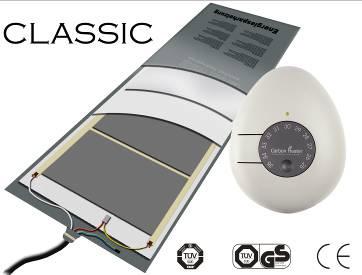 chauffage avec thermostat électronique Carbon