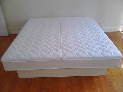 lit eau total confort waterbed. Black Bedroom Furniture Sets. Home Design Ideas
